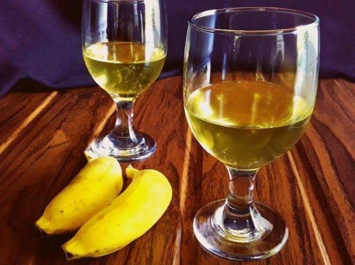 вино из бананов