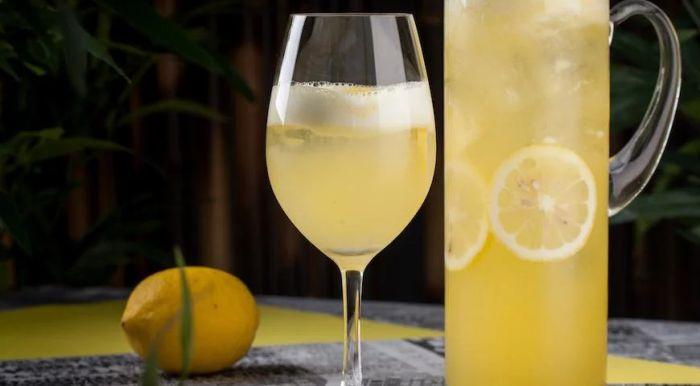 лимонное вино в домашних условиях