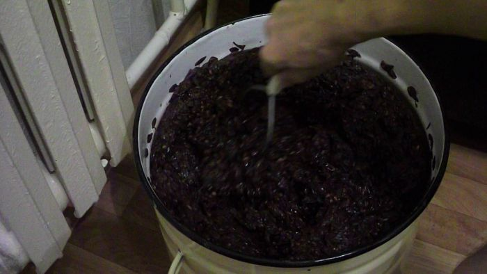 закваска для вина из винограда