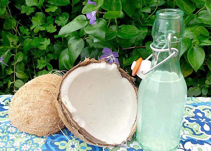 настойка самогона на кокосе