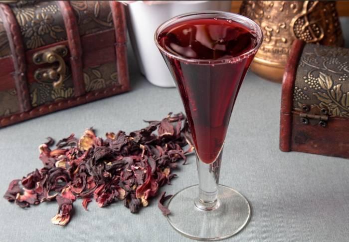 вино каркаде
