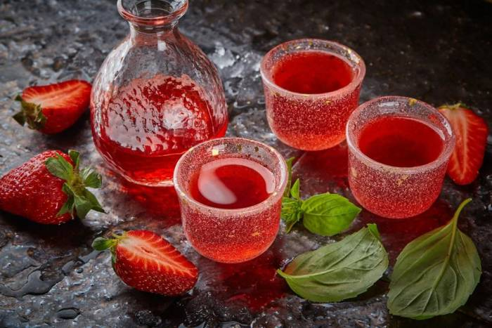 наливка из клубники рецепт на водке