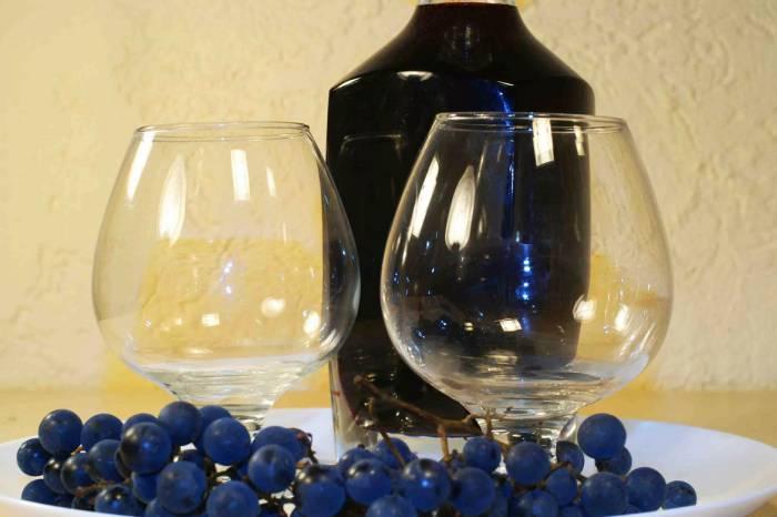 Виноградная наливка на спирту