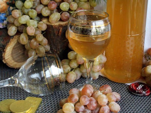 рецепт сухого вина из красного винограда